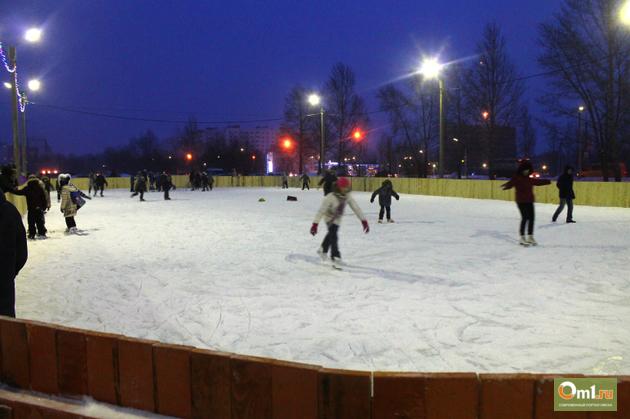 В Омске появилась электронная карта катков и хоккейных площадок