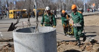 «Росводоканал Омск» контролирует сброс паводковых вод