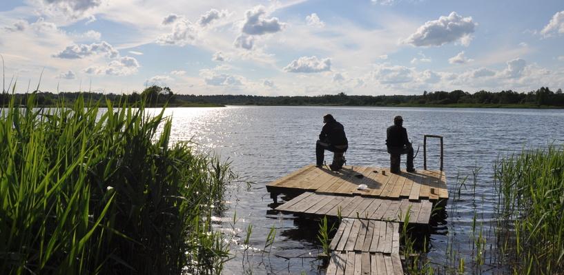 В Омской области предприниматель не пускал местных жителей на озеро