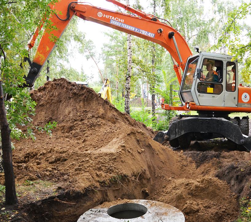 «Росводоканал Омск» улучшил водоснабжение поселка Мелиораторов