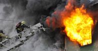 Ночью в Омске загорелась девятиэтажка. Один человек погиб