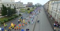 В Омске один из марафонцев перед стартом оказался без одежды