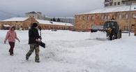 В Омской крепости залили городской каток