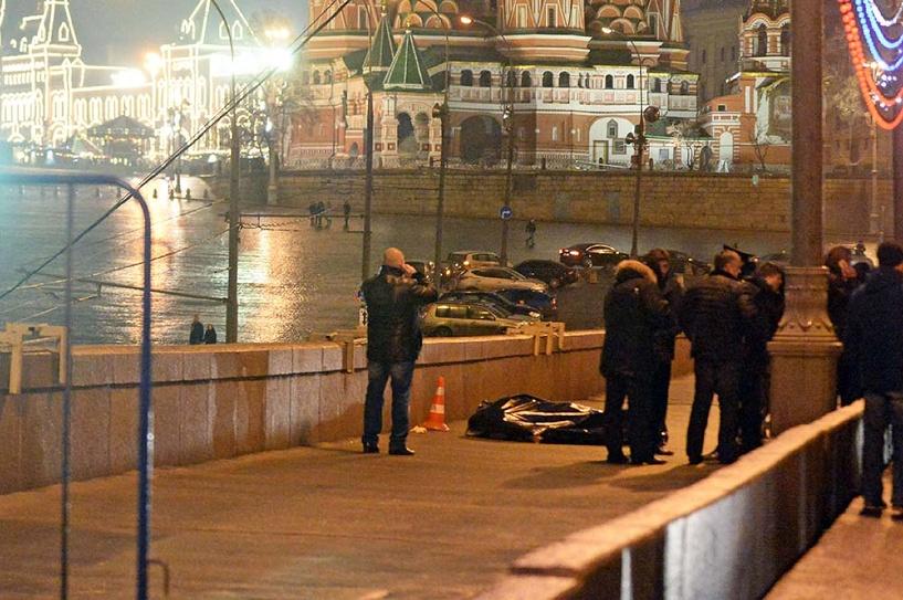 Новые результаты экспертиз: в Бориса Немцова стрелял левша