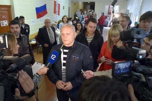 По данным экзитполов Виктор Назаров лидирует на выборах губернатора Омской области