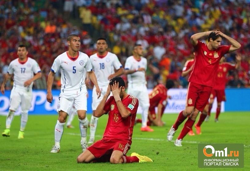 Действующий чемпион мира по футболу Испания покидает мундиаль в Бразилии