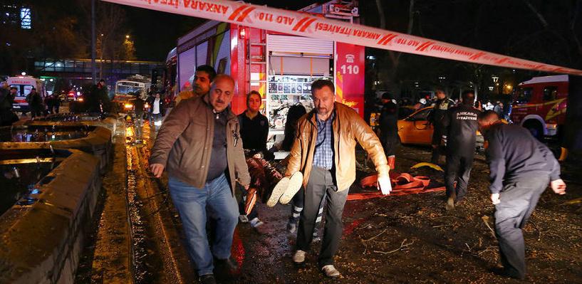 Теракт в Турции: мощный взрыв на автобусной остановке унес жизни 34 человек