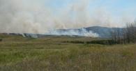 На юге Омской область складывается опасная ситуация с пожарами