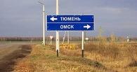 На трассе Тюмень-Омск КамАЗ с цистерной врезался в фуру