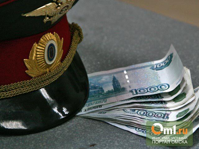 В Омской области пьяный водитель задержан за дачу взятки инспектору