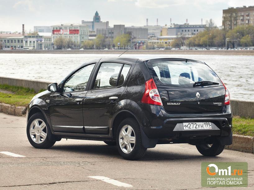 Иркутский угонщик автомобилей доехал на краденном «Рено» до Омска