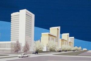 На Левом берегу построят гигантский микрорайон из 16 многоэтажек
