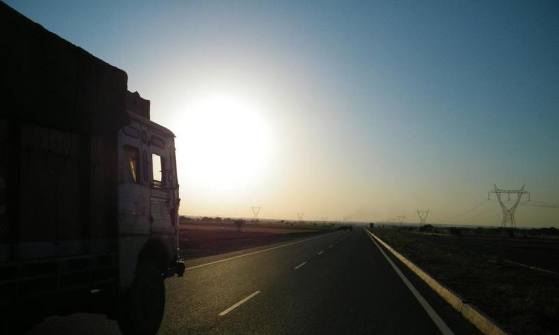 В Омске грузовики будут ездить только по разрешениям