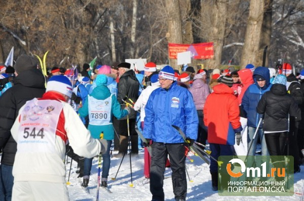 Депутаты Горсовета показали мастер-класс на лыжне