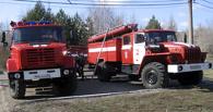 Омские пожарные потушили Дом культуры в Надеждино