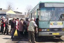 В Омске дачные автобусы перестанут ходить в непогоду