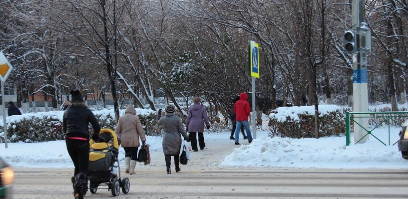 Дорожная обстановка в Омске: неработающие светофоры и пробка на Ленинградском