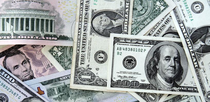 Рубль растет на глазах: биржевой курс доллара достиг 67 рублей