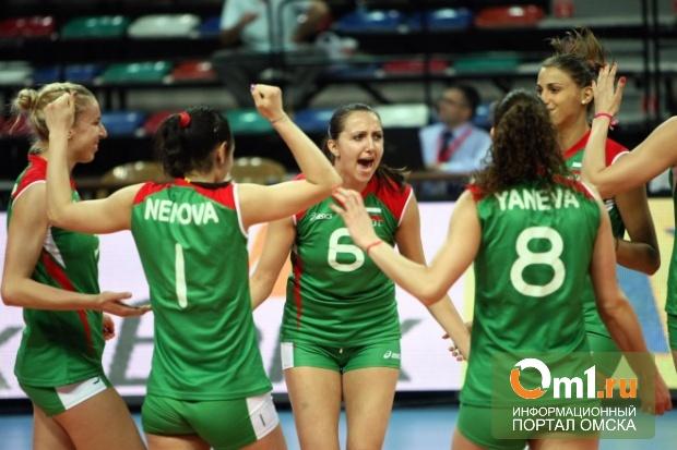 Российские волейболистки проиграли кубок Ельцина Болгарии