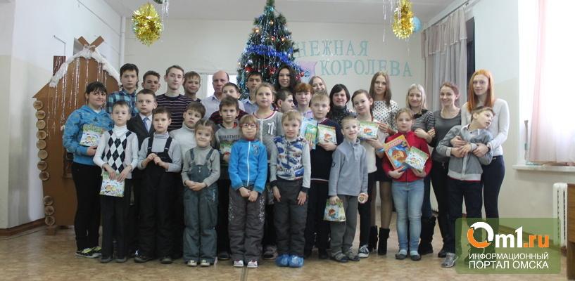 Добро для маленьких омичей! Детям из омской адаптивной школы-интерната устроили настоящий праздник