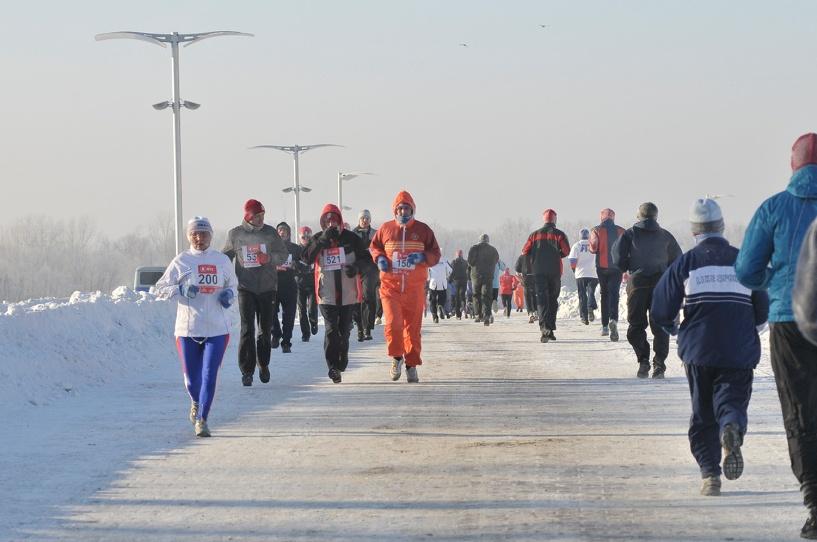 В Омске началась регистрация на Рождественский полумарафон