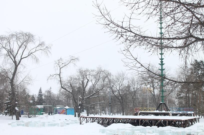 Главная елка Омска откроется 26 декабря