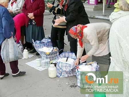 Жители Нефтяников «пикетировали» стихийный рынок во дворе жилого дома