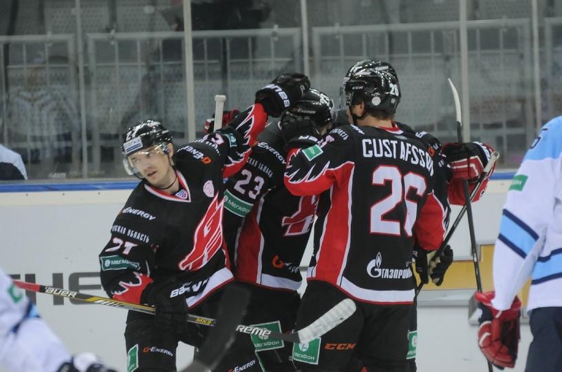 Омский «Авангард» одержал победу над финским «Йокеритом»