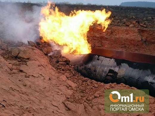 Из-за ремонта теплотрассы в Омске 12 домов остались без газа