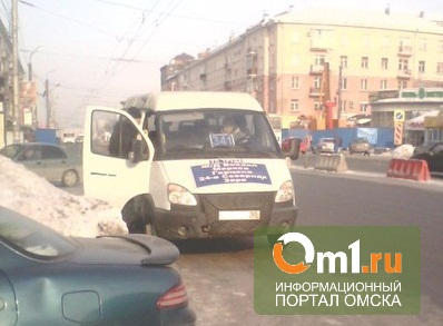 В Омске поймали газелиста, лишенного прав за побег с места ДТП