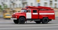 В Омске ночью горело 6-этажное офисное здание на Пушкина