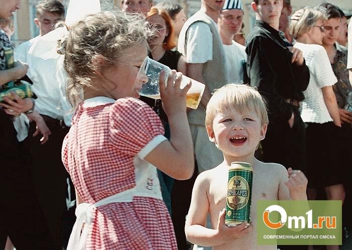 В Омской области в школе искусств торговали пивом