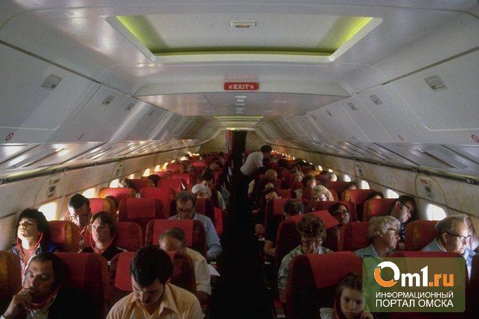 В самолете Омск - Ереван умер пожилой пассажир