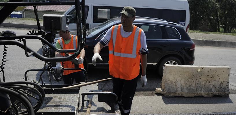 В Омске приступают к долгожданному ремонту улицы Лукашевича