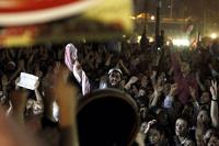 Президент Египта запретил избивать демонстрантов