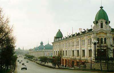 В Омске улица Ленина в десять раз короче, чем в Москве