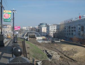 В Омске у развязки на Гагарина–Щербанева поставят новую автобусную остановку