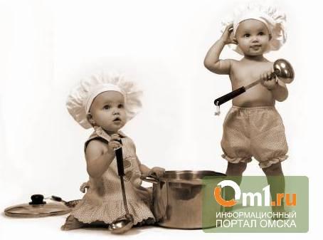 В Омской области дети опрокинули на себя кастрюлю с кипящим бульоном