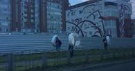 Омичи уже растащили по буквам надпись к 300-летию города