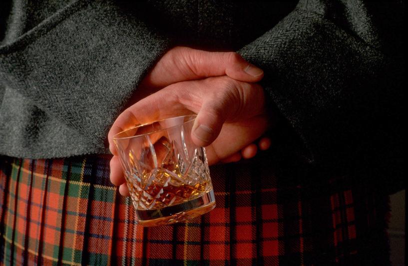 В Омске будут продавать элитный шотландский виски