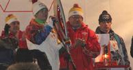 В Омск приехал Олимпийский огонь: онлайн-трансляция