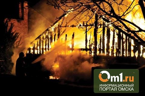 """В Омске горела баня """"Экстрим"""", владелец которой застрелился"""