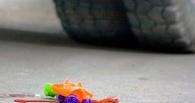 В Омской области водитель сбил трехлетнюю девочку