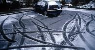 В Омске из-за ночного снега утром образовались 9-балльные пробки