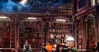 Омичи могут провести ночь в библиотеке имени Пушкина