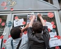 Сторонников Навального обвинили в вандализме