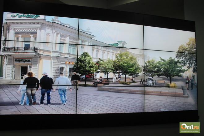 Проект реконструкции Любинского проспекта представили Горсовету