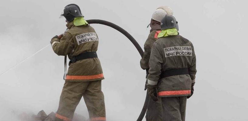 В Омске на пожаре в Центральном округе погибли двое мужчин