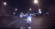19-летний омич без прав убегал от полиции на мопеде