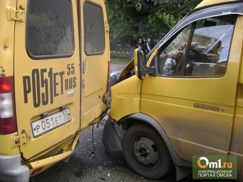В Омске на Лобкова столкнулись четыре автомобиля: пострадал ребенок